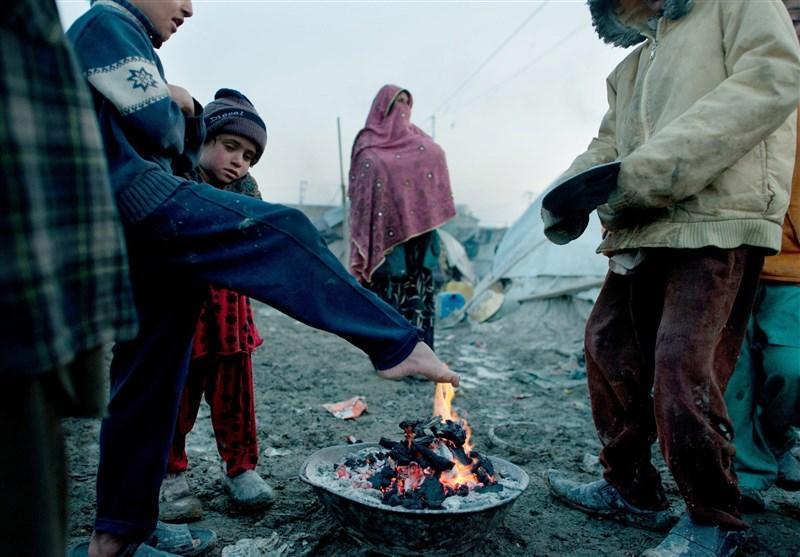 قحطی در اردوگاه های پناهجویان افغان در پاکستان