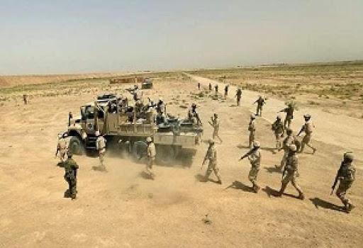 عملیات گسترده حشد در غرب الأنبار ، خطوط امدادرسانی داعش قطع شد